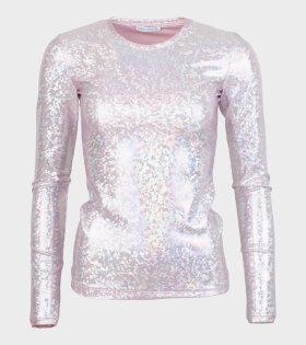 L/S Saya Blouse Baby Shimmer Pink