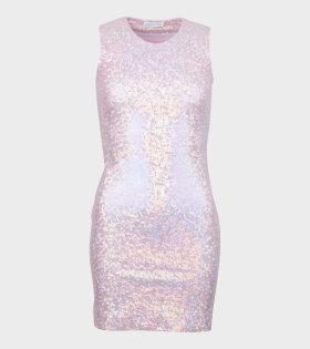 Vision Dress Baby Shimmer Pink