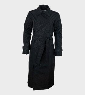 Carole Coat Black