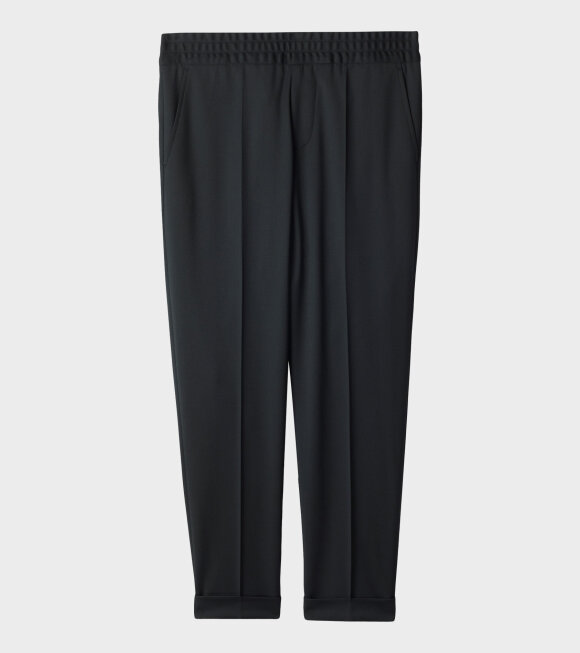 Terry Cropped Trouser Green