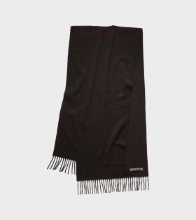 Acne Studios - Canada Narrow New Scarf  Black