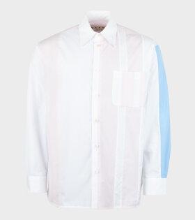 Marni - L/S Color Blocking Shirt White