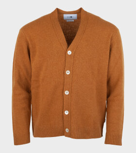 Bjorn Knitted Cardigan Brown