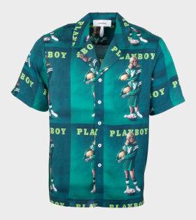 Orson Playboy Shirt Green