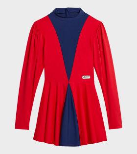 Adidas X Lotta Volkova - Ice Skate Dress Red