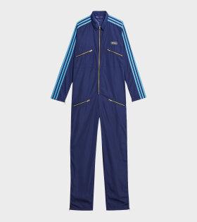 Adidas X Lotta Volkova - Zip Jumpsuit Blue