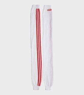 Adidas X Lotta Volkova - Leg Warmers White