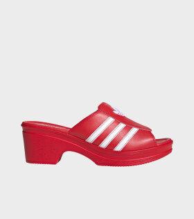 Adidas X Lotta Volkova - Trefoil Mule Red