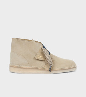 Clarks - Desert Coal Maple Suede