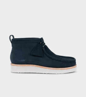 Clarks - Wallabee Hike Navy Combi
