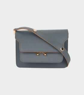 Marni - Mini Trunk Saffiano Bag Grey