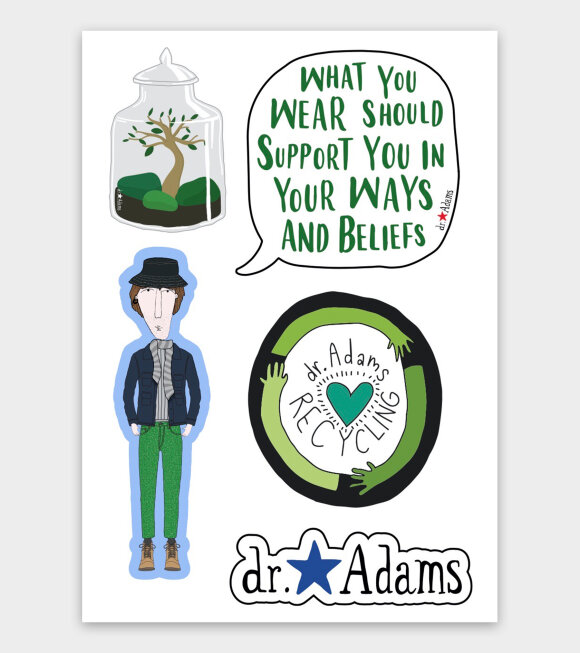 Dr. Adams  - Jacob Stickers