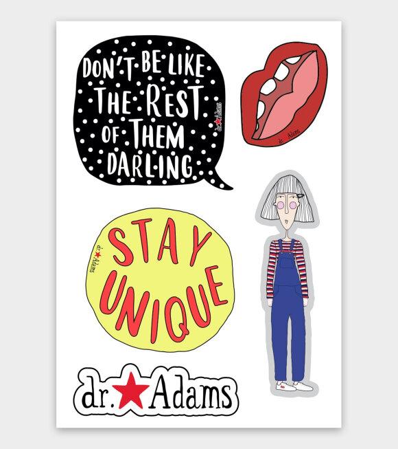 Dr. Adams  - Anna Stickers