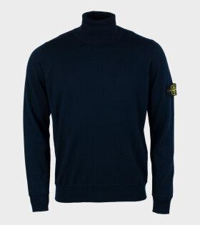 Turtleneck Knit Navy