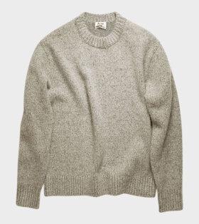 Melange Sweater Grey Melange