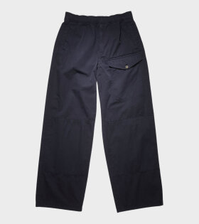 Acne Studios - Straight-leg Cotton Trousers Navy