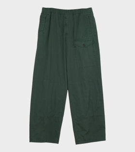 Acne Studios - Straight-leg Cotton Trousers Green