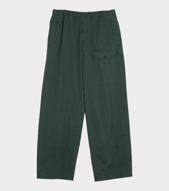 Acne Studios - Straight-leg Cotton Trousers Green