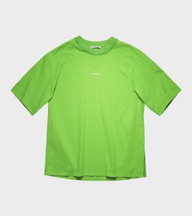 Acne Studios - Reverse-Logo T-shirt Bright Green