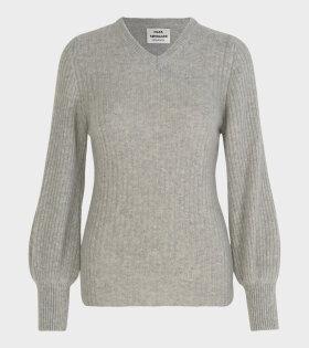 Kaxilla V Sweater Pearl Melange
