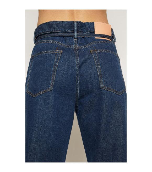 Acne Studios - 1991 Toj Loose Fit Jeans Dark Blue