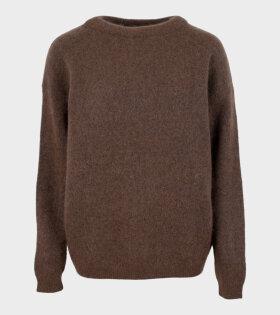 Crewneck Sweater Brown