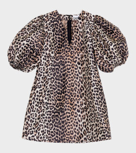 Mini Dress Phantom Leopard