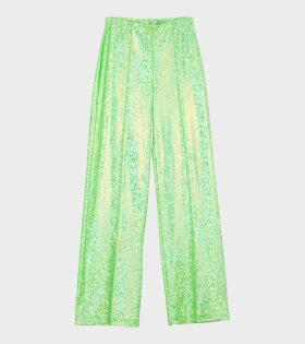 Lissay Pants Flou Green Shimmer