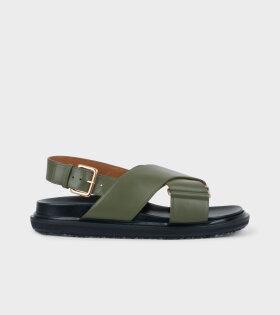 Fussbet Sandal Green
