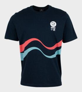 Paul Smith - Mens Reg Fit T-Shirt Surf Blue