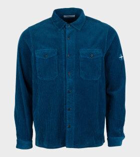 Stone Island - Velvet Shirt Blue