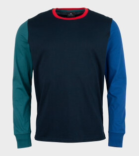 Paul Smith - Mens LS CN Reg Fit T-shirt