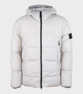 Stone Island - Garment Dyed Jacket Off-White
