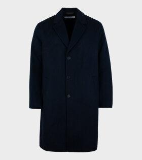 Acne Studios - Dali Twill Double Coat Blue
