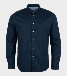 Paul Smith - Mens Shirt LS Slim Fit Navy