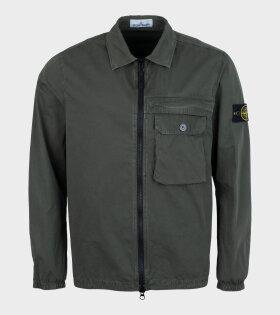 Stone Island - Overshirt Jacket Green