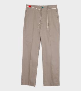 Marni - Colour Block Pants Beige