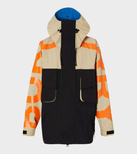 Burberry - Colour Block Technical Twill Jacket Multi