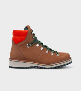 Paul Smith - Ash Leather Boots Brown Tan