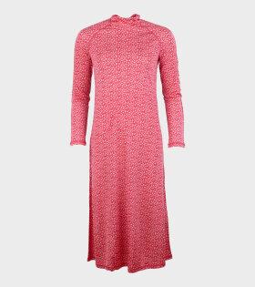 Leiri Unikko Dress Pink