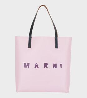 Marni Logo Tote Pink