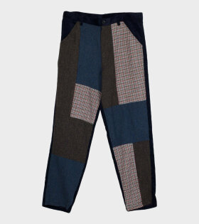 Comme des Garcons Shirt - Patchwork Pants Multicolour