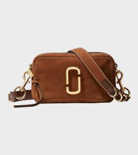 Marc Jacobs - The Softshot 21 Sued Bag Brown