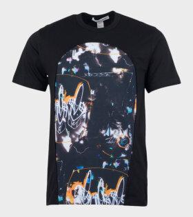 Comme des Garcons Shirt - Space T-shirt Black