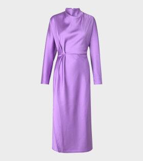 Damai Sheen Cady Dress Lilac