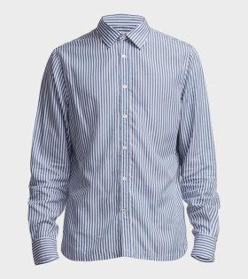 NN07 - Errico Striped Shirt Blue