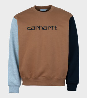 Carhartt WIP - Carhartt Tricol Sweat Brown