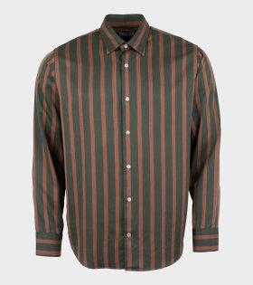 NN07 - Errico Shirt Green/Brown