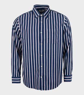 NN07 - Errico Shirt Navy/White