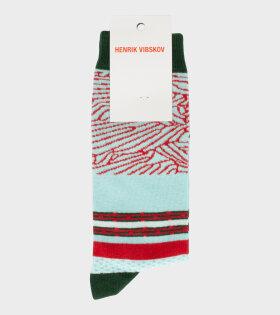 Henrik Vibskov - Clean Clean Socks Fresh Mint